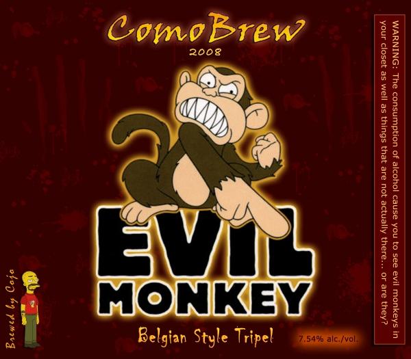 Evil Monkey Belgian Tripel